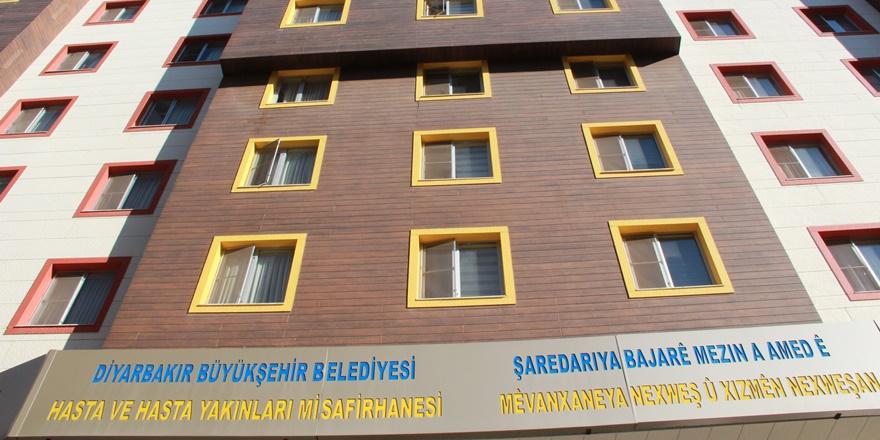Diyarbakır'da hasta ve refakatçilerine misafirhane hizmeti