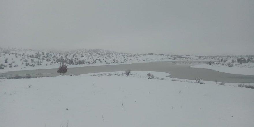 Diyarbakır'da kuruyan gölet yağışlarla hayat buldu