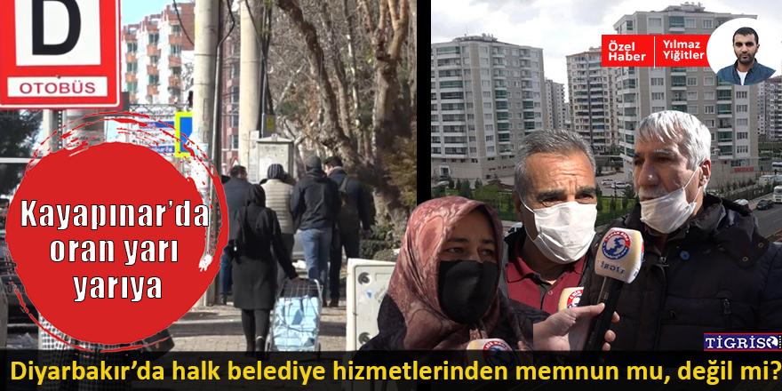 VİDEO - Diyarbakır'da halk belediye hizmetlerinden memnun mu, değil mi?