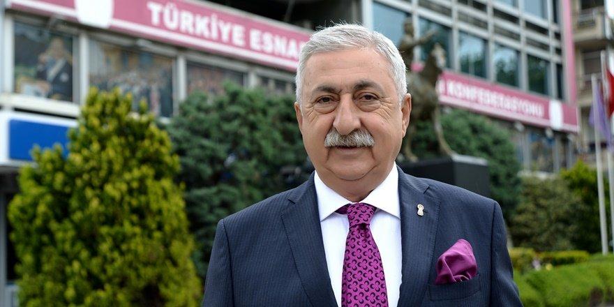 TESK Başkanı Palandöken, esnafın sorunlarını Erdoğan'a aktardı