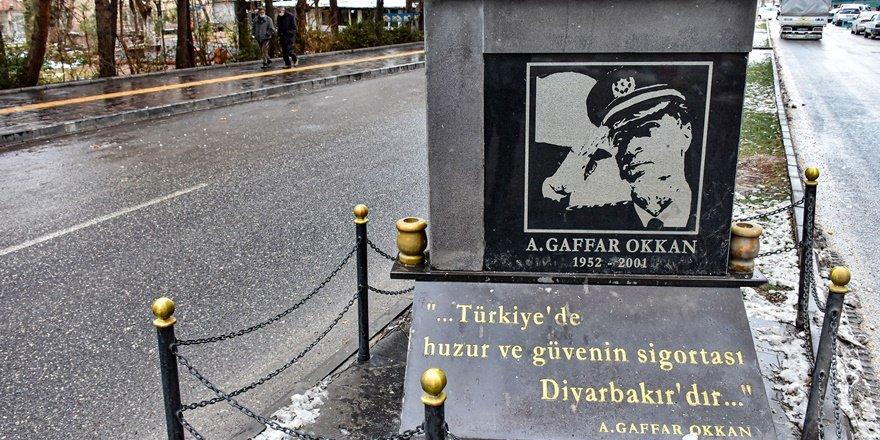Diyarbakır'da Gaffar Okkan unutulmadı