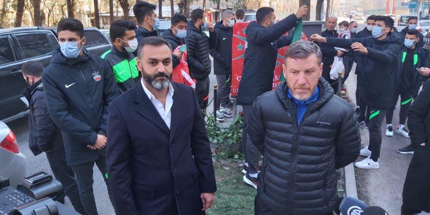 Diyarbekirspor yönetimi Gaffar Okkan'ı unutmadı