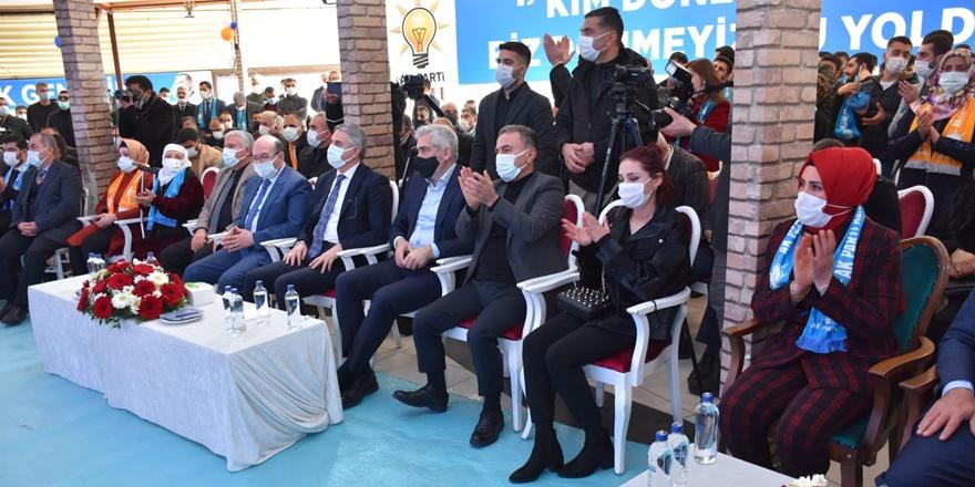 AK Parti Kayapınar ve Bağlar İlçe Kongreleri yapıldı
