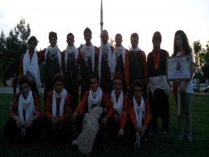 Bingöl Üniversitesi folklor ekibine en iyi kostüm ödülü