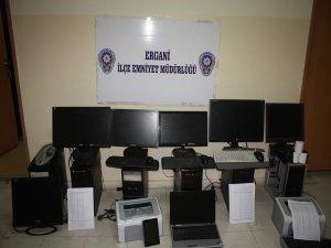 Ergani'de kaçak bahis operasyonu