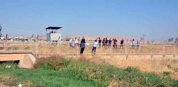 Şenyurt-Dirbesiyê arasına duvar
