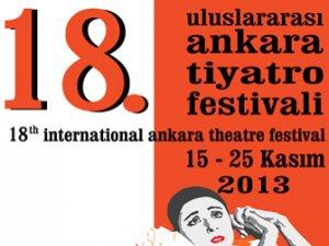 18. Uluslararası Ankara Tiyatro Festivali başladı