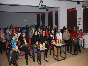 Kadın Destek Merkezi kursiyerleri film etkinliğinde buluştu