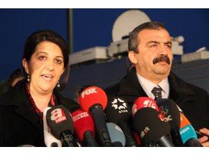 Buldan ve Önder KCK yöneticileri ile görüştü