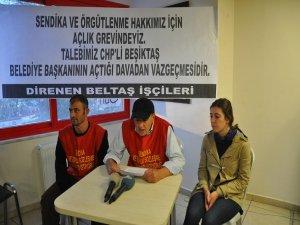 BELTAŞ işçileri açlık grevi eylemine başladı