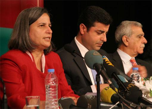 BDP il başkanları toplandı