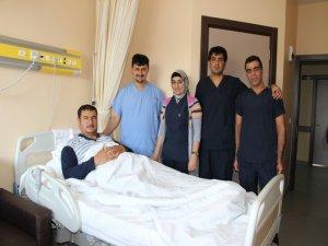 Solhan'da ilk kez safra kesesi ameliyatı yapıldı