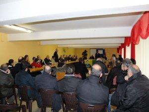 Almanya'daki Erzurumlular seçim için bir araya geldi