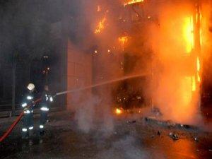 Hamburg'da Türklere ait işyerlerinde yangın