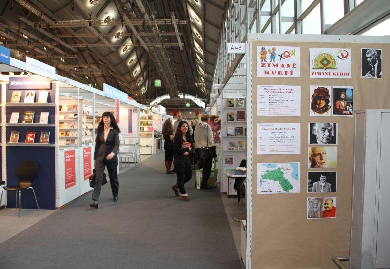 Frankfurt Kitap Fuarı'nda Kürt sorunu tartışılacak
