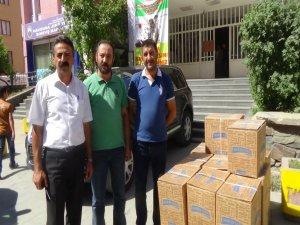 MEYA-DER'den Rojava'ya yardım