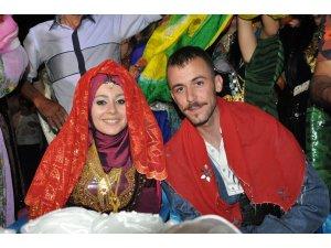 Nevşehirli geline Kürt usulü düğün