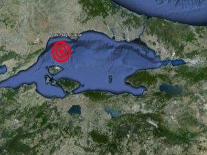 Marmara'da 4,7 büyüklüğünde deprem