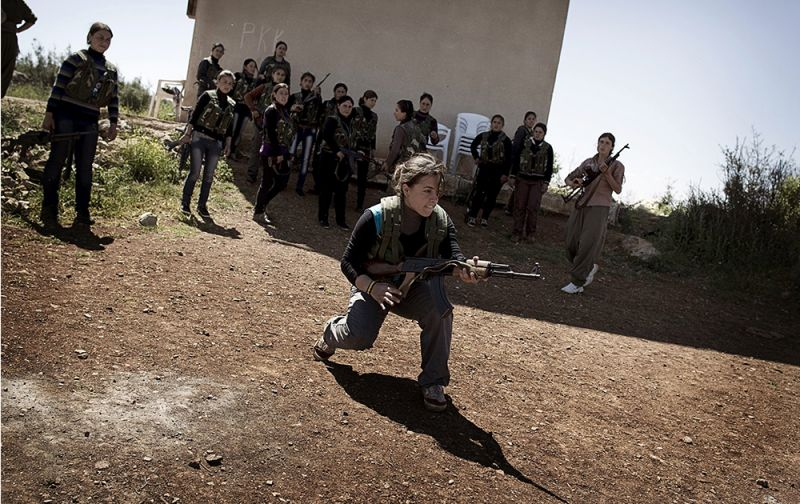 YPG, Til Koçer'de kontrolü sağladı