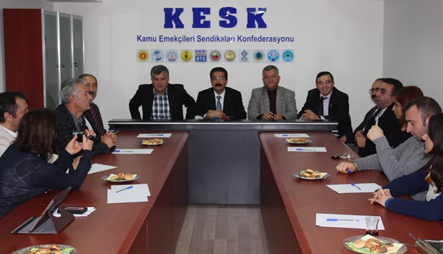 KESK 19 Aralık'ta grev ile AKP'yi uyaracak