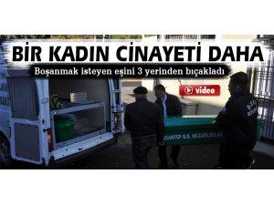 Gaziantep'te bir kadın cinayeti daha