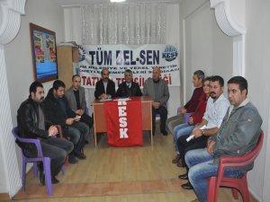 Tüm Bel-Sen Bitlis'te kongre yaptı