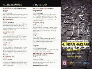 4. İnsan Hakları Belgesel Film Günleri başlıyor