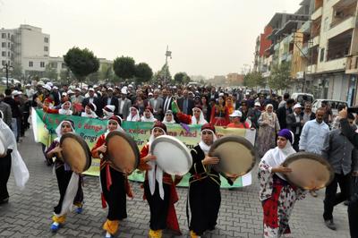 Karacadağ Festivali kervan yürüyüşüyle başladı