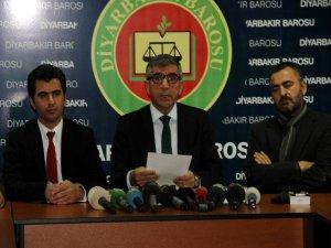 Diyarbakır Barosu'ndan tutuklu milletvekili açıklaması