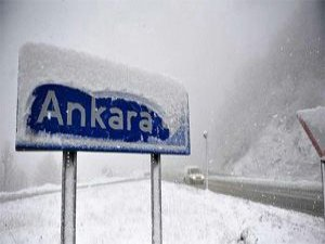 Ankara kara teslim…