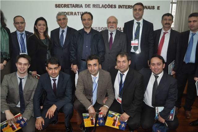 Karacadağ Kalkınma Ajansı Sau Paulo Belediyesi'nde