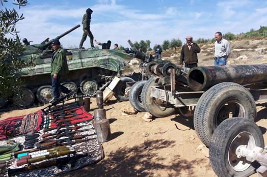 Efrîn'de çetelere büyük darbe
