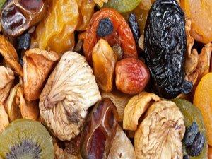 ''Kuru meyveler, diyet yapanlar için vazgeçilmez ara öğün''