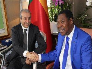 Bakan EKER, Benin cumhurbaşkanı ile görüştü