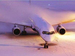 Diyarbakır'da hava ve kara ulaşımına kar engeli