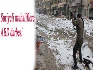 Suriyeli muhaliflere ABD darbesi