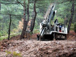 Kaz Dağları'ndaki maden arama çalışmaları