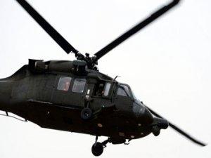 Askeri helikopter düştü…