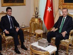 Erdogan û Barzanî tên bal hev