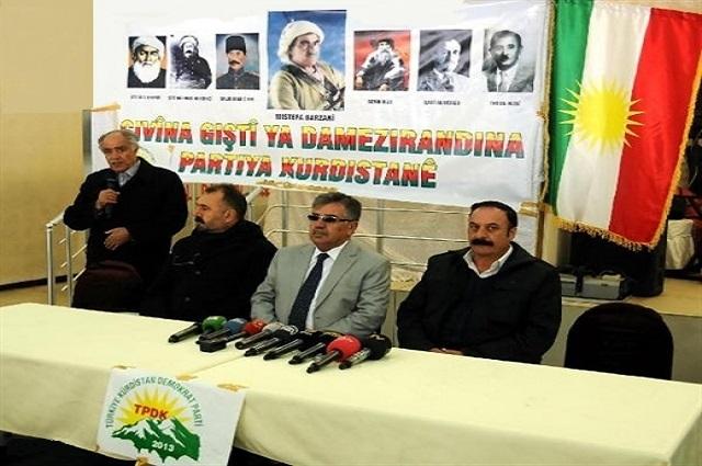 """""""Kürdistan"""" kuruluş hazırlıkları!"""