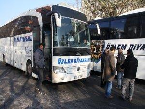 BDP'nin Cizre mitingi için araç konvoyları yola çıktı