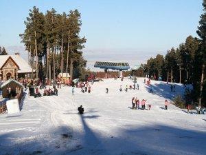 Sarıkamış'ta kayak sezonu