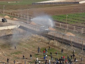 Nusaybin'de  binlerce insan sınıra yürüdü…