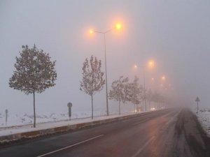 Günlerdir Diyarbakırlıları canından bezdiren buz ve don'un üzerine bir de sis çökecek..