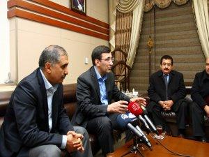 Kalkınma Bakanı Yılmaz, Elazığ'da