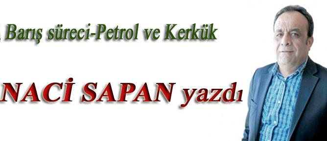 Barış süreci-Petrol ve Kerkük