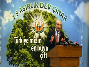 Bakan Mehdi Eker,'' Avrupa'da birinci, dünyada da 7. Sıradayız.''
