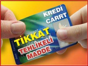 Kredi kartına fren