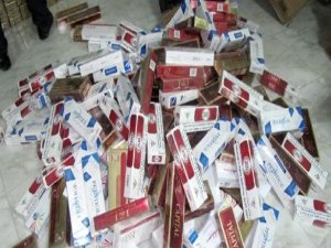 Diyarbakır'da 8 bin 500 karton kaçak sigara ele geçirildi