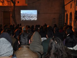 Antep'te 'Roboski Mon Amaur' film gösterimi
